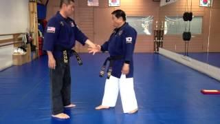 Hapkido One Hand Wrist Grab Defense 20