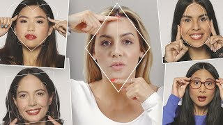 How To EASILY Find Your Face Shape And Pick The Right Glasses