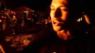 preview picture of video 'ziomek eXtreme zjazd na linie przez ogień'