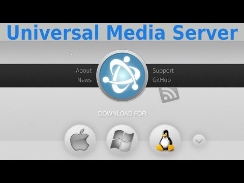 Universal Media Server, serveur multimedia open source et multiplateforme
