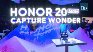 Huawei sub-brand Honor launches its new Honor 20 range of phones,
