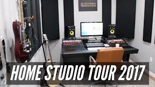 Home Studio Tour 2017 - TheRecordingRevolution.com