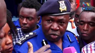 JKUAT students prompt Police Spokesman Charles Owino to name officers accused of police brutality
