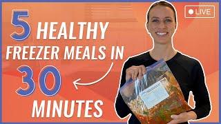 5 Healthy Freezer Meals In 30 Minutes