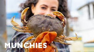 Farideh's in Oregon Searching for Dungeness Crab