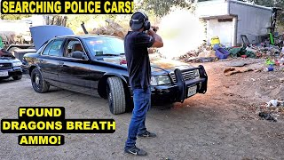 Searching Police Cars Found a Dragons Breath shot! | Crown Rick Auto