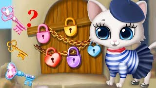 Play Fun Pet Kitten Care Kids Game - Kitty Meow Meow - Cute Animal Care Makeover Fun Games For Girls