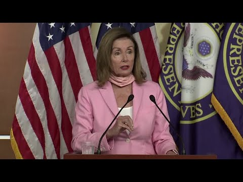 Pelosi slams Republicans over stimulus impasse