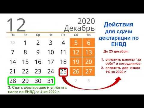 Видео консультация для ИП на ЕНВД по сдаче декларации за 4 квартал 2020г