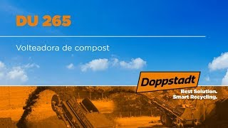 Doppstadt DU 265 - Volteadora de compost - Español
