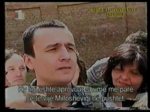 Albin Kurti ne burgun e Pozharevcit