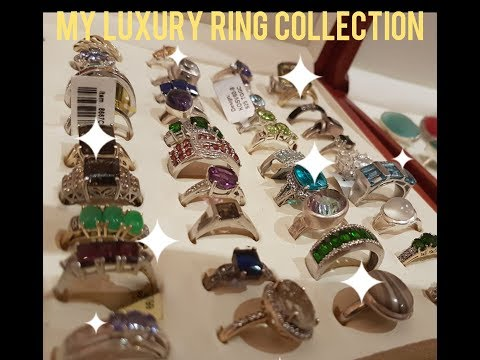 MY LUXURY RING COLLECTION | PART 1 | GEMSTONES | JEWELLERY |