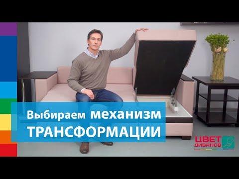 Как выбрать механизм трансформации дивана?