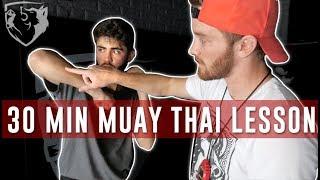 Muay Thai Training 101: Full Beginner's Class