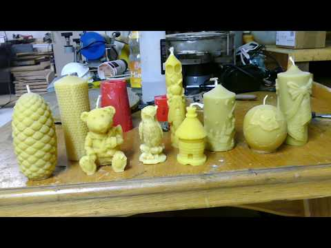 Kerzen form Gießform Selber machen/Форма для свечи/Make a candle mold by yourself