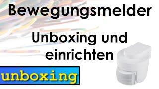 Homematic Bewegungsmelder - unboxing und einrichten