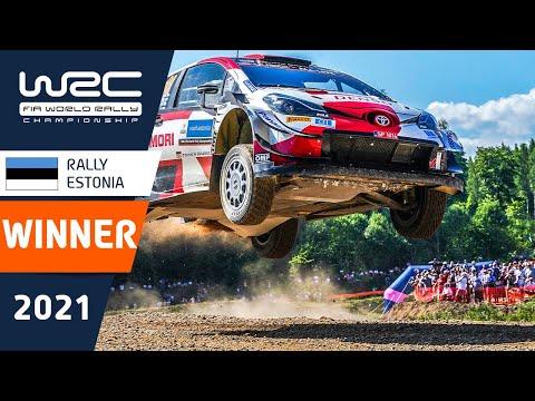 最年少優勝を果たしたトヨタのロバンペラの走りをまとめたダイジェスト動画 WRC 2021 第7戦ラリー・エストニア