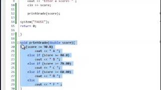 Download Youtube: C++ Tutorial- Void Functions