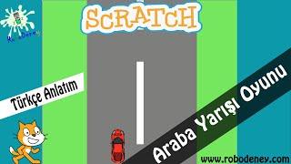 Scratch 3 ile Araba Yarışı Oyunu Yapımı (Part 1)
