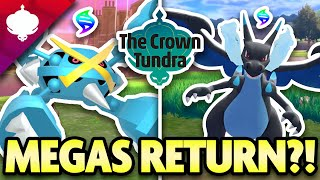 Are MEGA EVOLUTIONS RETURNING in Pokemon Crown Tundra?! Let's Discuss by aDrive
