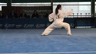 Championnats de France Wushu Limoges 2015 Delphine Tran