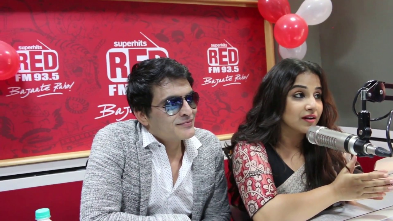 Vidya Balan at Dehradun's first Radio Station