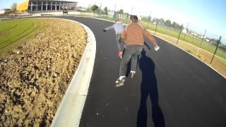 preview picture of video 'Anneau de vitesse de Châteauroux (Rollers et Vélos)'
