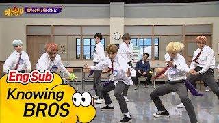 Gambar cover [ENG] [방탄소년단(BTS)] 발바닥에 껌 붙은 춤! 신곡 'DNA'♪ 무대♡ 아는 형님(Knowing bros) 94회