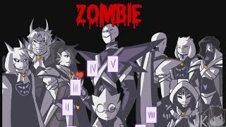 Underverse AMV  Zombie (Bad Wolves)
