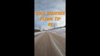 Cold Weather FPV Flying Tip 1 - #shorts