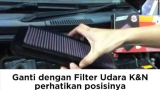 Cara Pasang / Pemasangan Filter K&N Replacement - Dokter Mobil
