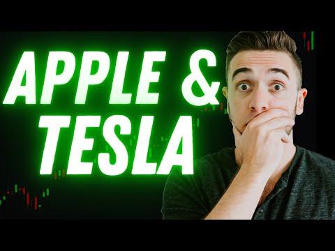 Apple & Tesla: RUNNING TO THE MOON!!! 🚀 🌑  // (AAPL + TSLA Stock Prediction/Analysis)