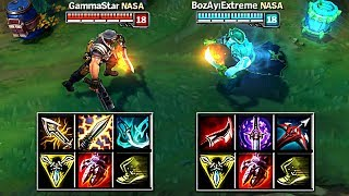 CRIT GANGPLANK VS LETHALITY GANGPLANK FULL BUILD FIGHTS & Best Moments!