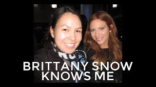 I KNOW WHO YOU ARE - BRITTANY SNOW TO ME