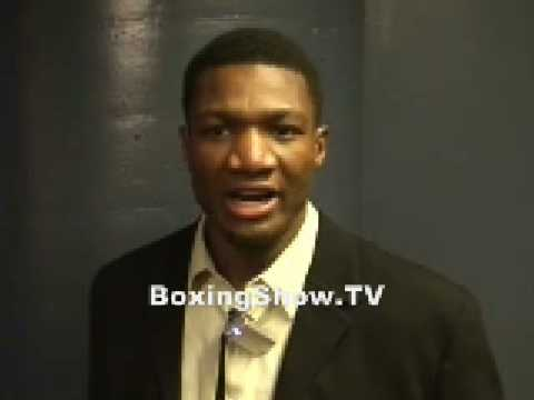 TROY ROSS (THE CONTENDER) INTERVIEW WITH BOXINGSHOW.TV