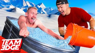 Last to Leave the Ice Bath Wins!  (Extreme Trivia)