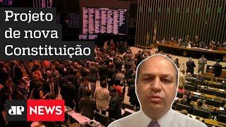 Nova Constituição deve ser mais objetiva e equilibrada, com mais deveres, diz Ricardo Barros