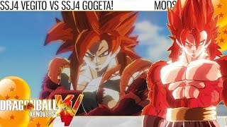 Dragon Ball Xenoverse - SSJ4 Vegito vs SSJ4 Gogeta (Subscriber Battles)