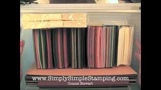Simply Simple FLASH CARD Organization
