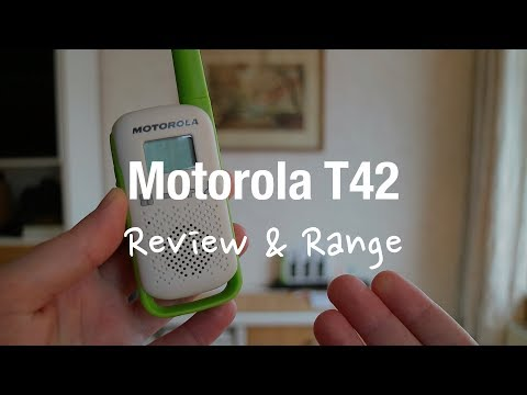 Motorola Talkabout T42 Triple Walkie-Talkie (Review and Range Test)