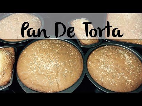 Como Hacer Pan de torta