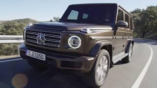 The all-new Mercedes G-Class Geländewagen 2019
