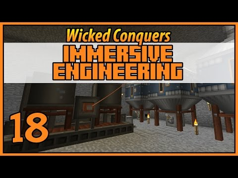 Biodiesel - Wicked Conquers Immersive Engineering - Ep 18 - [Let's Play Minecraft Mods]