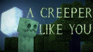 """♪ """"A Creeper Like You"""" A Minecraft Parody of Adele's Someone Like You ♪"""