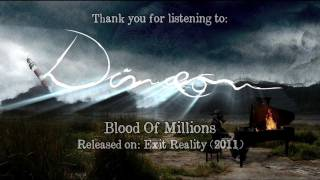 Dimaeon - Blood Of Millions - Official Lyric Video