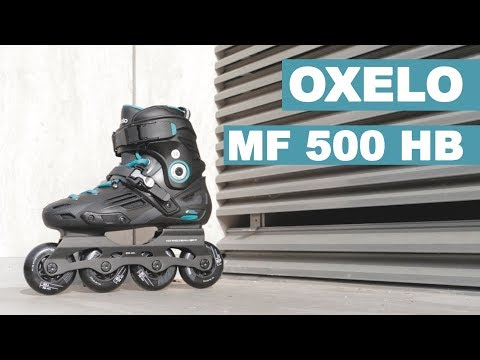 THE MOST AFFORDABLE FREERIDE SKATES?? OXELO MF 500 REVIEW