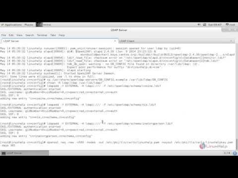 How to configure LDAP Server in RHEL/CentOS | LinuxHelp Tutorials