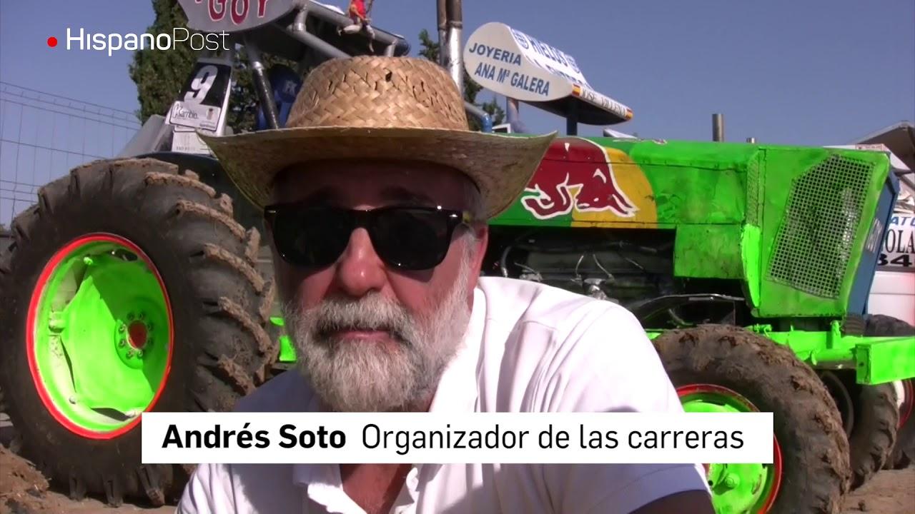 Tractores a 100 km por hora compiten en Cádiz