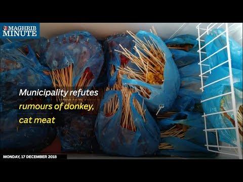 Municipality refutes rumours of donkey, cat meat