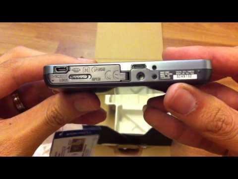 Sony Cybershot DSC-TX66 Quick Unboxing